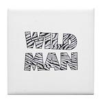 Wild Man Tile Coaster