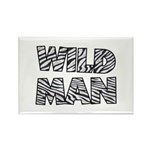 Wild Man Rectangle Magnet (100 pack)