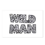 Wild Man Postcards (Package of 8)