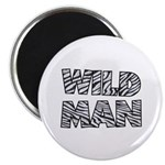 "Wild Man 2.25"" Magnet (100 pack)"