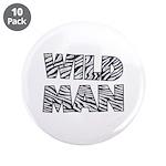 """Wild Man 3.5"""" Button (10 pack)"""