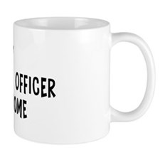 Left my Chief Financial Offic Mug