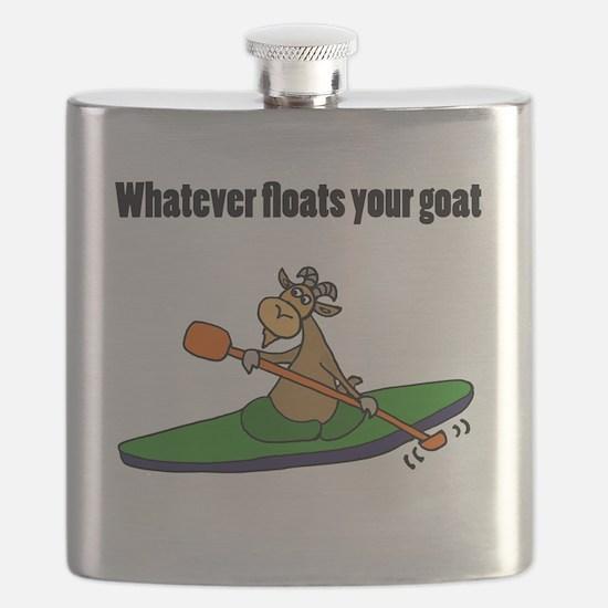 Cute Cartoon goat Flask