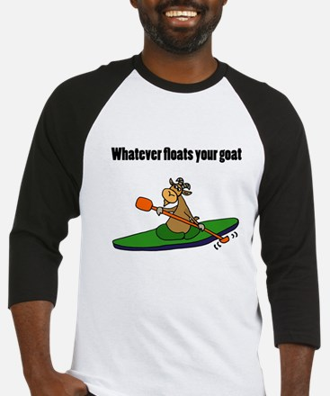 Goat Kayaking Baseball Jersey