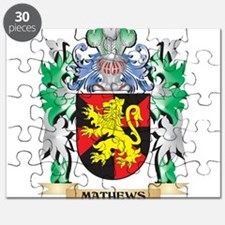 Mathews Coat of Arms - Family Crest Puzzle