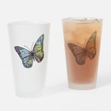 Unique Travel bug Drinking Glass