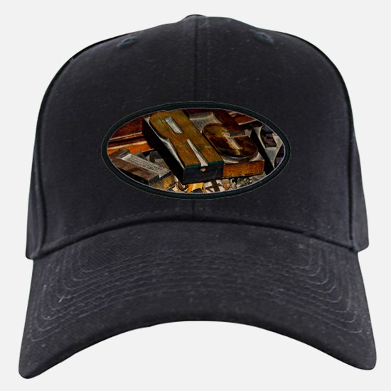 Wooden Letters Baseball Hat