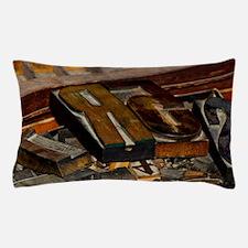 Wooden Letters Pillow Case