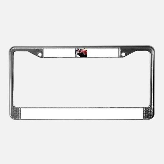 Classic car dashboard License Plate Frame