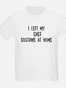 Left my Chef T-Shirt