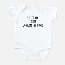 Left my Chef Infant Bodysuit