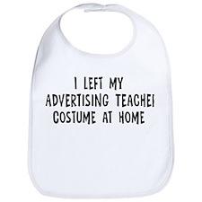 Left my Advertising Teacher Bib