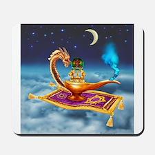 Magical Dragon Lamp Mousepad