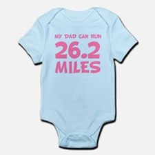 My Dad Can Run 26.2 Miles Body Suit