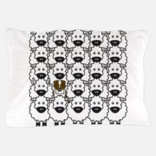 Cute Australian shepherd art Pillow Case