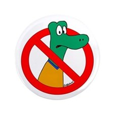"Anti-Gators 3.5"" Button"