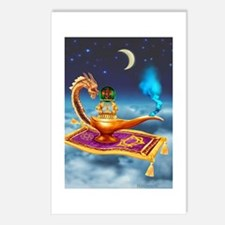Magical Dragon Lamp Postcards (Package of 8)