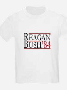 Vintage Republican Reagan Bush 84 T-Shirt