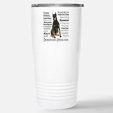 Doberman Traits Travel Mug