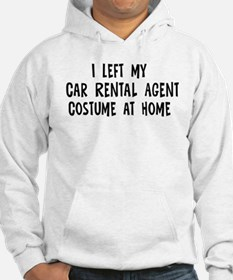 Left my Car Rental Agent Hoodie