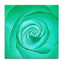 Alien Bloom Tile Coaster