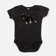 Unique Bernese mountain dog Baby Bodysuit