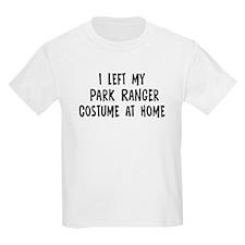 Left my Park Ranger T-Shirt