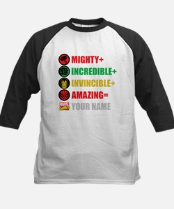 Mighty Incredible Invincible Kids Baseball Jersey