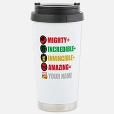 Mighty Incredible Invin Stainless Steel Travel Mug