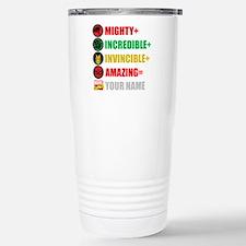 Mighty Incredible Invin Travel Mug