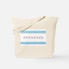 Chi-Town Axolotl (vintage look) Tote Bag