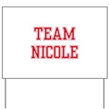 TEAM NICOLE  Women and apos;s Pink T-Shirt Yard Si