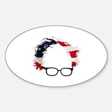 Bernie Flag Hair Decal