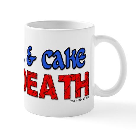 Tea & Cake or Death Mug