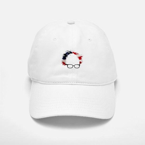 Bernie Flag Hair Baseball Baseball Cap