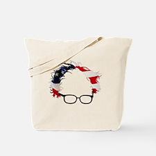Bernie Flag Hair Tote Bag