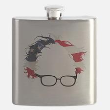 Bernie Flag Hair Flask