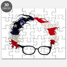 Bernie Flag Hair Puzzle