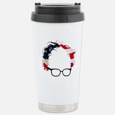 Bernie Flag Hair Stainless Steel Travel Mug
