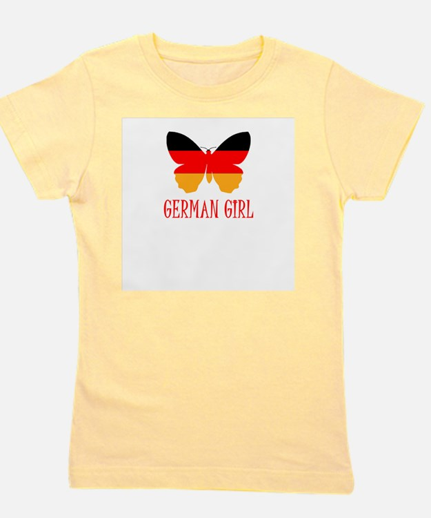Cute German girl Girl's Tee
