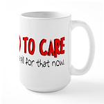 Take a Pill for That Large Mug