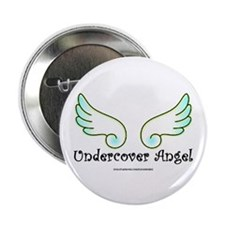 "Undercover Angel 2.25"" Button"