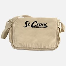 St Croix Virgin Islands Vintage Logo Messenger Bag