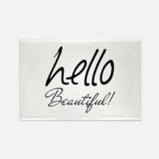Gifts for Her Hello Bea Rectangle Magnet (10 pack)