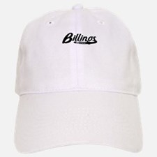 Billings Montana Vintage Logo Baseball Baseball Baseball Cap