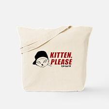 Kitten Please Keanu Tote Bag