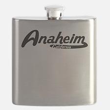 Anaheim California Vintage Logo Flask