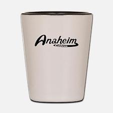 Anaheim California Vintage Logo Shot Glass