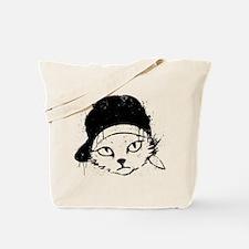 Keanu Kitten Graphic Tote Bag