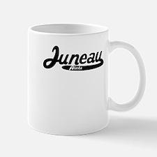 Juneau Alaska Vintage Logo Mugs